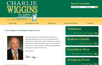 Campaign Website Charlie Wiggins