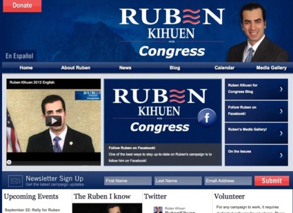 Campaign Website - Ruben Kihuen for Congress