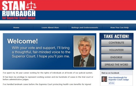Campaign Website -  Stan Rumbaugh