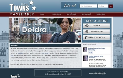 Campaign Website Deidra Towns